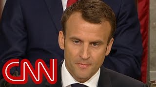 Macron warns US Congress: There's no Planet B - CNN