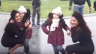 Nayanthara Playing With Cute Baby At SK13 Shooting Spot | #SivaKarthikeyan | #Nayanthara - RAJSHRITELUGU