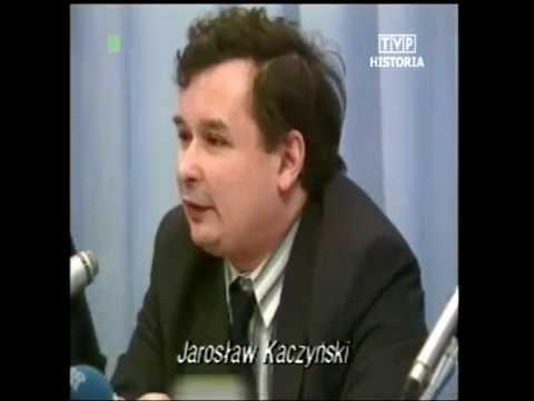 Jarosław Kaczyński namawia do głosowania na Lecha Wałęsę