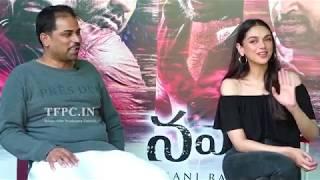 Nawab Movie Team Interview | Ashok Vallabhaneni | Aditi Rao Hydari | TFPC - TFPC