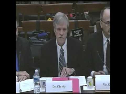 Chris Christy Immigration Video Dr. John Christy