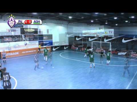 Pascoe Vale v Ashburton (Women's V-League) Round 21, 2013/14 Season, Futsal Oz