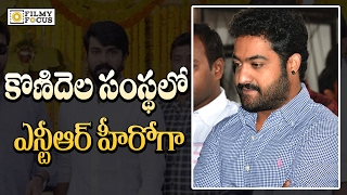 Jr.NTR New Movie in Konidela Productions Banner