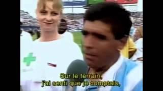 ¿Que dijo Grondona cuando iban a hacerle el doping a Diego?