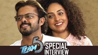 Sreesanth And Pearle Maaney Special Funny Interview About Team 5 Movie | TFPC - TFPC