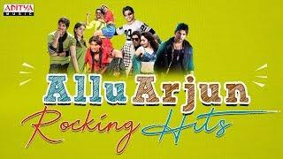AlluArjun Rocking Hit Songs | Allu Arjun Birthday Special | #HBDAlluArjun - ADITYAMUSIC