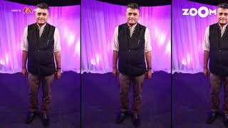 Gajraj Rao's look with printed shirt & brown chinos | Gajraj's OOTD - ZOOMDEKHO