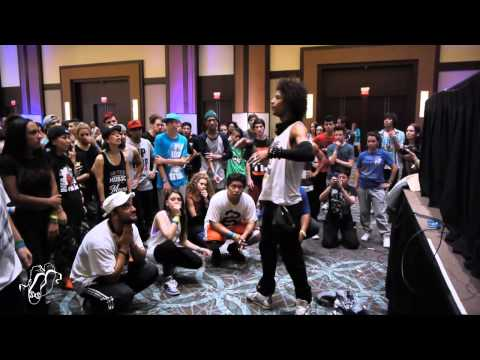 Les Twins Workshop - Laurent| Hip Hop International Urban Moves 2012| Step x Step Dance