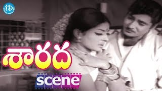Sarada Movie Scenes - Shobhan Babu Falls In Love With Sharada || Allu Ramalingaiah - IDREAMMOVIES