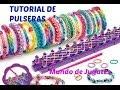 Como Hacer Pulseras De Ligas-Gomitas| Loom Bands|DIY| Con los Dedos| Mundo de juguetes