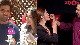 Rubina & Abhinav's UNIQUE Valentine's Day celebration | Mohit-Aditi's Valentine's surprise - ZOOMDEKHO