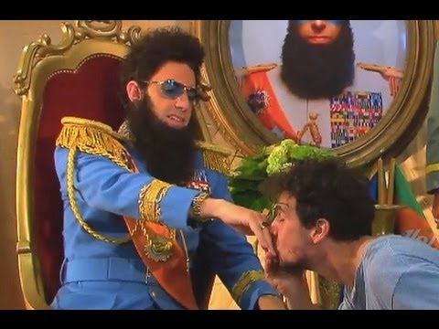 EXCLUSIV THE DICTATOR Aladeen Interview with tortured Daniele Rizzo Sacha Baron Cohen