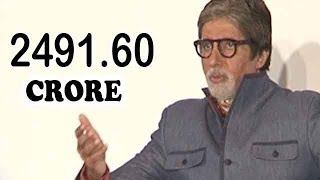 Amitabh Bachchan's Nett Worth Revealed!