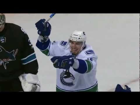 Alex Burrows 4-0 Goal - Canucks at Sharks - R3G4 2011 Playoffs - 05.22.11 - HD