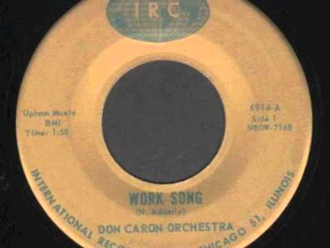 Don Caron Work Song Titty Shaker