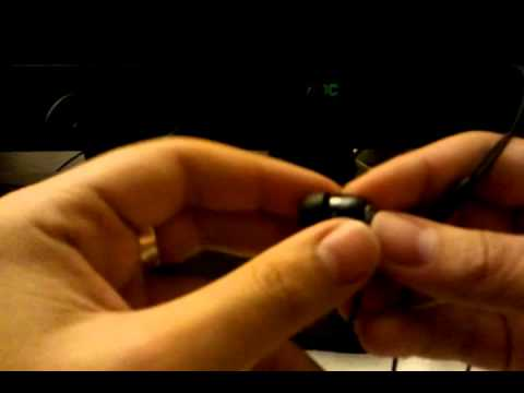 Sony Ericsson MW600 Bluetooth Stereo Headset Unboxing