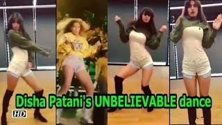 Disha Patani's UNBELIEVABLE dance video - IANSINDIA