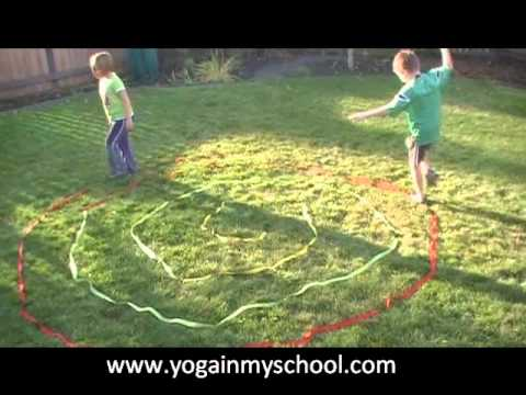 Rope Walking: Kids Yoga Activities