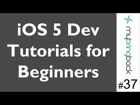 Learn Xcode 4.2 Tutorial iOS iPad iPhone 1.37 Basics of Twitter Integration