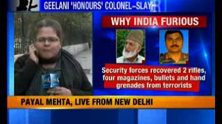 Syed Ali Geelani pays tribute to terrorists killed in Tral encounter - NEWSXLIVE