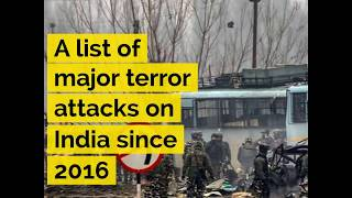 A list of terror attacks on India in the last 3 years - ABPNEWSTV