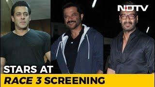 'Race 3' Screening: Salman Khan, Ajay Devgn, Anil Kapoor & Others - NDTV