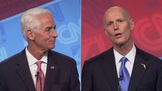 Crist and Scott debate jets and mansions - CNN