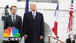 Watch Live: Trump, French President Macron hold White House news conference - NBCNEWS