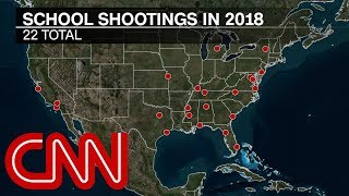 Report: More killed in school shootings than in military in 2018 - CNN