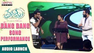 Bang Bang Song Permfom At Premam Audio Launch|| Naga Chaitanya, Sruthi Hassan || Gopi Sunder,Rajesh - ADITYAMUSIC