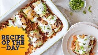 Zucchini Enchiladas Hack | Food Network - FOODNETWORKTV