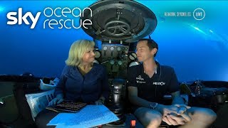 BREAKING NEWS: Sky News' first broadcast from the depths of the Indian Ocean - SKYNEWS