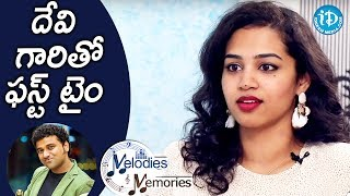 Manisha Eerabathini About Her Experiance With DSP || Melodies And Memories - IDREAMMOVIES