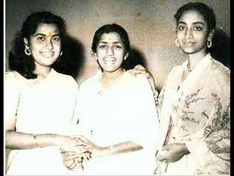 Geeta Dutt, Lata Mangeshkar : Chalo ghunghat mein : Film - Sipahiya (1949)