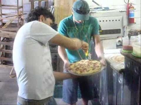 Forno de Pizza a Gás Vulcão IZAEL BUFFET PIZZA