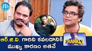 He Was The Main Reason To Meet RGV - Anil & Bhanu || Frankly with TNR || Talking Movies With iDream - IDREAMMOVIES