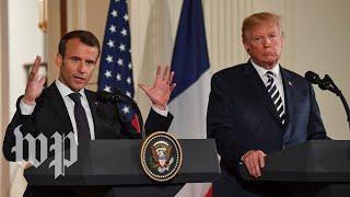 Macron: France wants to work on 'new deal' on Iran - WASHINGTONPOST