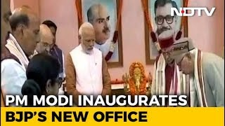 BJP Gets A New Address; Spirit Of New Office Is The Party Worker, Says PM - NDTV