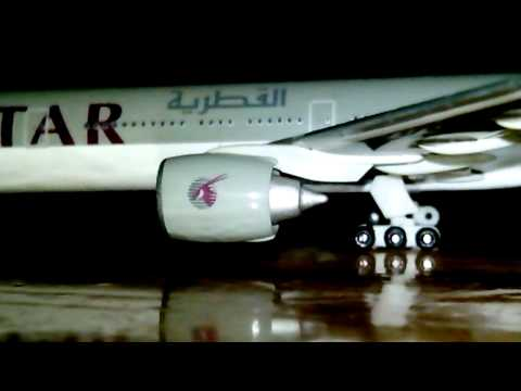 Qatar airways b777-300 close-up part 2