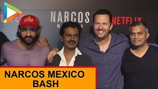 SPOTTED: Saif Ali Khan, Nawazuddin Siddiqui, Anurag Kashyap & others at Narcos Mexico Bash - HUNGAMA