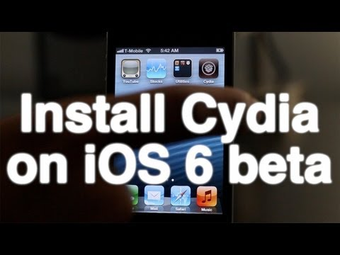 How to install Cydia on iOS 6 beta