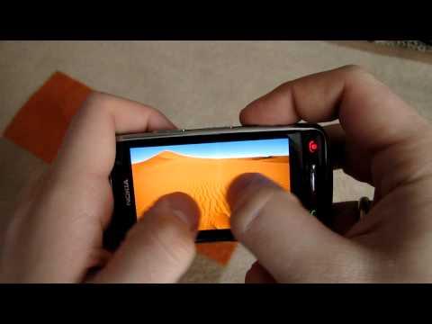 Nokia C6-01 Menu [HD]