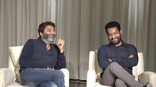 Jr NTR & Trivikram Dussehra Special Interview About Aravinda Sametha | TFPC - TFPC