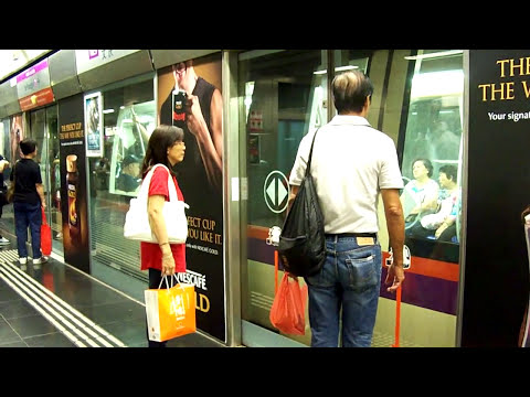 Metro/subway in Singapore, Singapore (MRT)