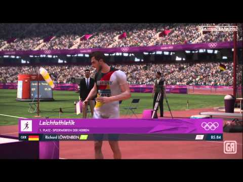London 2012 Olympics - Gameplay HD Xbox 360 | Controller