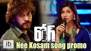 Rogue Nee Kosam song promo   Ishan   Mannara Chopra   Angela - idlebrain.com - IDLEBRAINLIVE