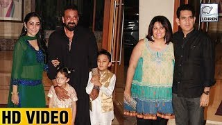 Sanjay Dutt's Eid Celebration With Bhoomi Cast | LehrenTV