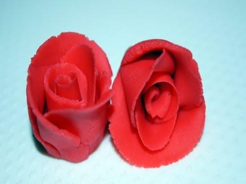 Jak zrobić róże i goździka z marcepanu