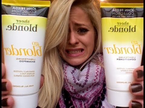 Product Rant John Frieda Go Blonder