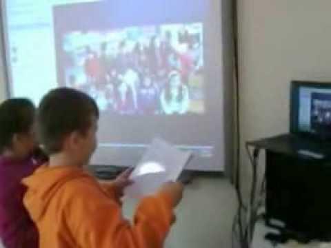 Τηλεδιάσκεψη με το αδελφοποιημένο Δημοτικό σχολείο Φουρφουρά